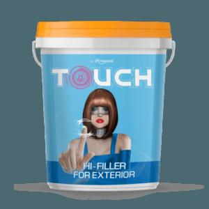 Bột trét tường ngoại thất Mykolor Touch Hi - Filler Exterior - 20kg