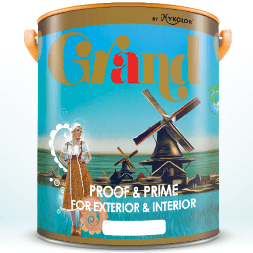 Mykolor Grand Proof & Prime For Exterior & Interior