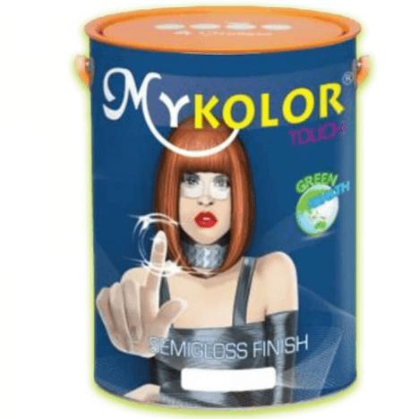 Sơn ngoại thất BÓNG MỊN Mykolor Touch Semigloss Finish