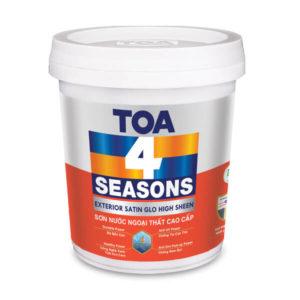 Sơn nước ngoại thất TOA 4 Seasons Exterior Satin Glo High Sheen