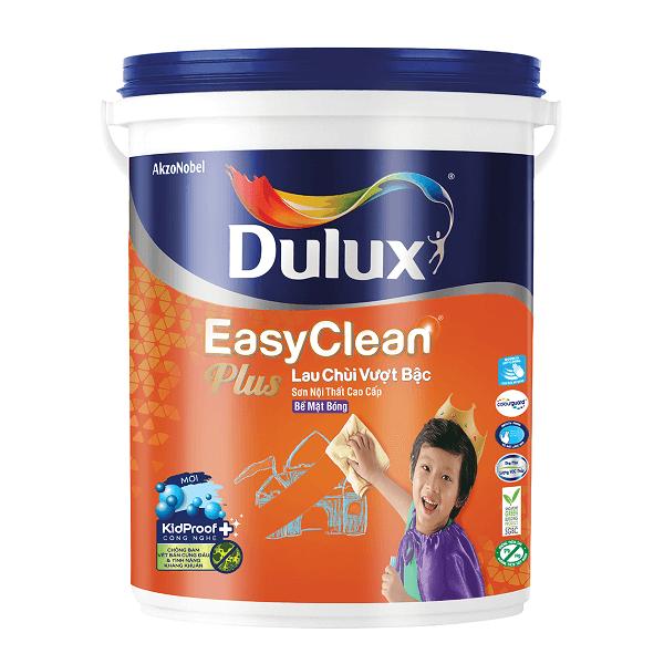 Sơn nước nội thất Dulux EasyClean 74AB lau chùi vượt bậc