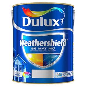 Sơn nước ngoại thất Dulux Weathershield BJ8 bề mặt mờ