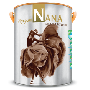 Sơn ngoại thất siêu bóng Mykolor Nana Gold For Exterior