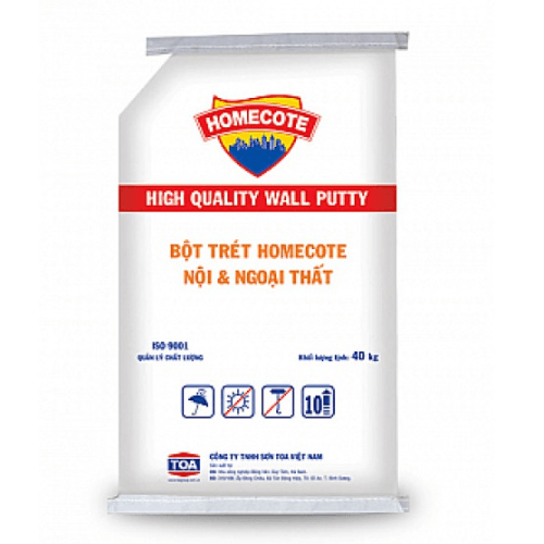 Bột trét Homecote Wall Putty Interior & Exterior