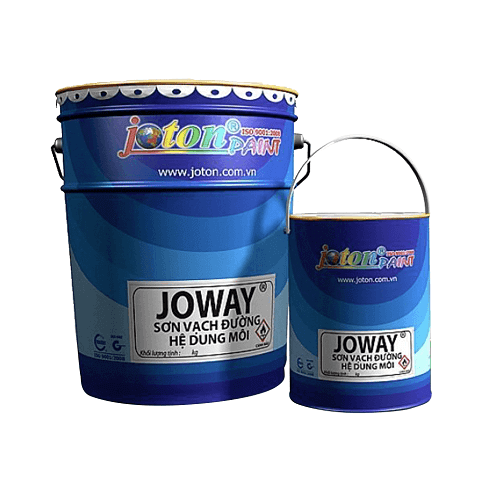 Sơn kẻ vạch Joton Joway sơn lạnh màu trắng, đen