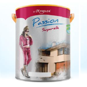 Sơn nước ngoại thất bóng Mykolor Passion Supersilk For Ext