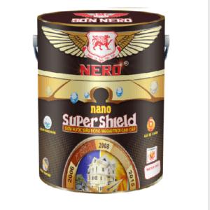 Sơn ngoại thất siêu bóng NERO Nano Super Shield