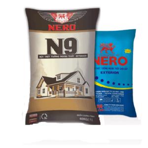 Bột trét tường ngoại thất Nero N9 Exterior