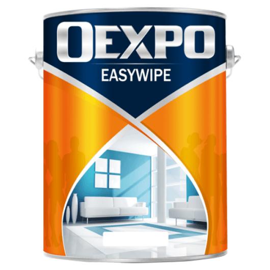 Sơn nội thất lau chùi hiệu quả Oexpo Easywipe