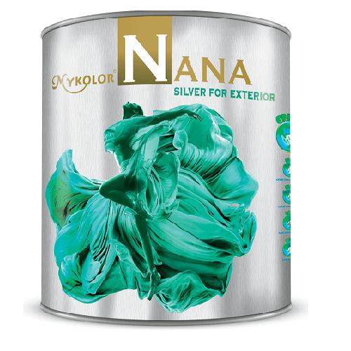 Sơn ngoại thất cao cấp bền đẹp Mykolor Nana Silver For Exterior