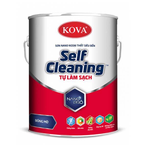 Sơn ngoại thất tự làm sạch KOVA NANO Self-Cleaning