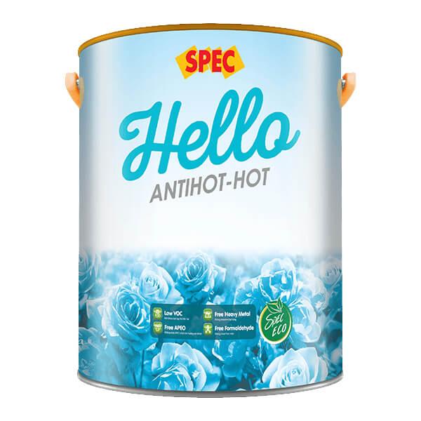 Sơn nước chống nắng nội ngoại thất Spec Hello Antihot-Hot