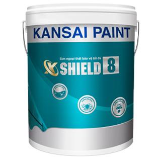 Sơn ngoại thất bảo vệ tối đa Kansai X-Shield 8
