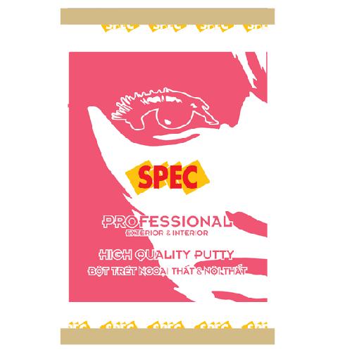 Bột trét tường Spec Professional Putty Ext & Int
