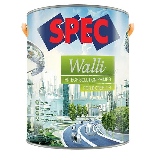 Sơn lót Nano chuyên dụng Spec Walli Hi-Tech Solution Primer