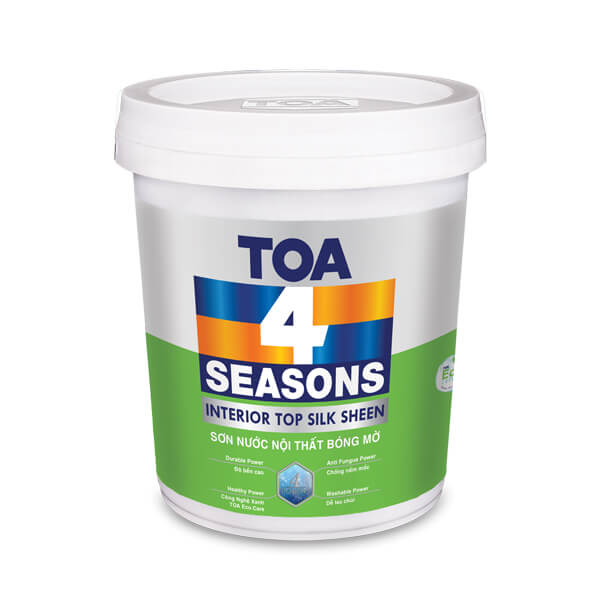 TOA 4 Seasons Interior Top Silk Sheen