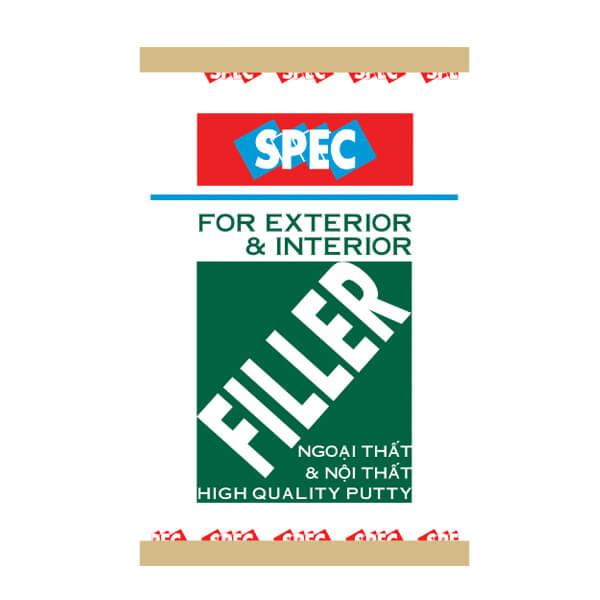 Bột trét tường nội ngoại thất cao cấp Spec Filler For Ext & Int