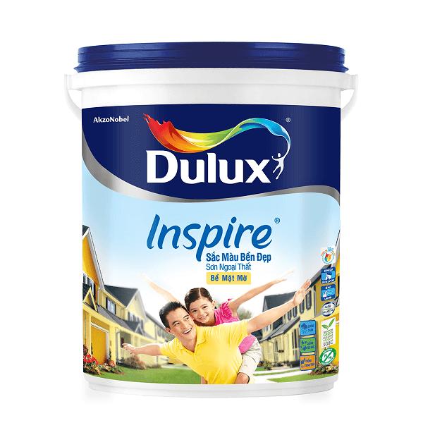 Sơn nước ngoại thất Dulux Inspire Sắc Màu Bền Đẹp Bề mặt mờ