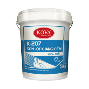 Sơn lót ngoại thất kháng kiềm KOVA K-207