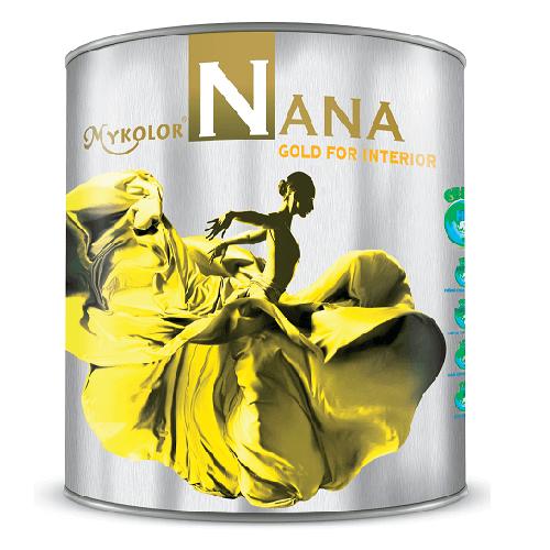 Mykolor Nana Gold For Interior-Sơn nội thất bóng bảo vệ tối đa