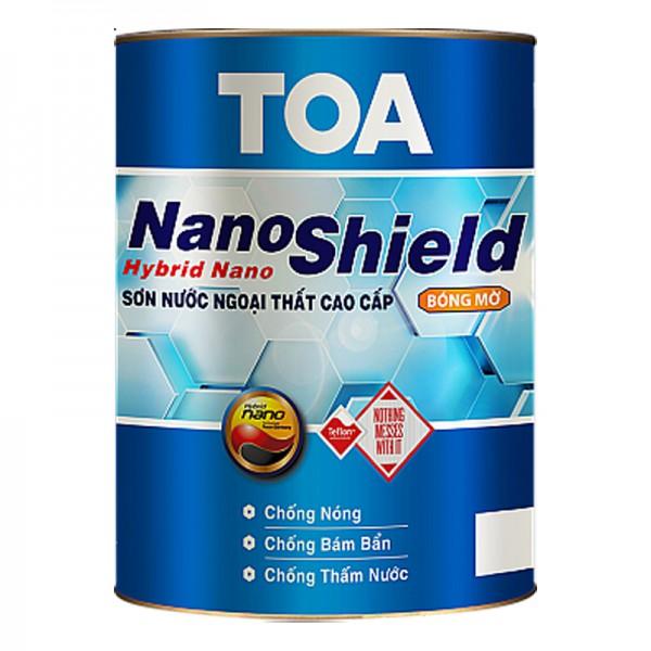 Sơn nước ngoại thất cao cấp TOA NanoShield bóng