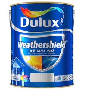Sơn nước ngoại thất Dulux Weathershield bề mặt mờ