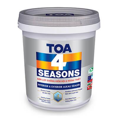 Sơn lót chống kiềm TOA 4 Seasons Interior & Exterior Alkali Sealer