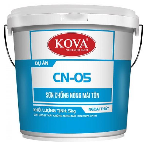 Sơn chống nóng KOVA CN-05-Mái tôn