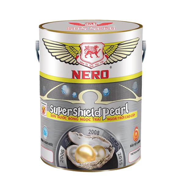 Sơn bóng ngọc trai ngoại thất NERO Super Shield Pearl