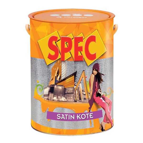 Sơn nước ngoại thất cao cấp bóng Spec Satin Kote