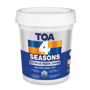 Sơn nước ngoại thất TOA 4 Seasons Exterior Tropic Shield