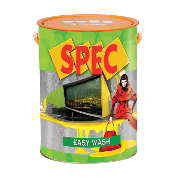 Sơn nước nội thất cao cấp dễ lau chùi Spec Easy Wash