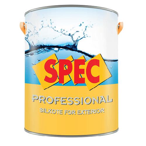 Sơn nước ngọai thất bóng Spec Pro Silkote For Ext New