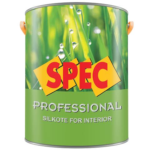 Sơn nước nội thất bóng Spec Pro Silkote For Int New