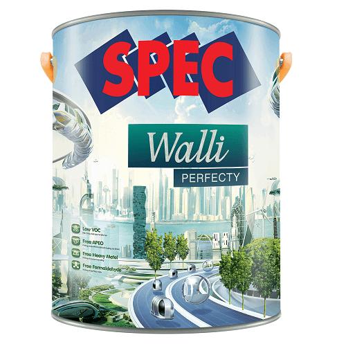Sơn ngoại thất đẹp bền lâu Spec Walli Perfecty