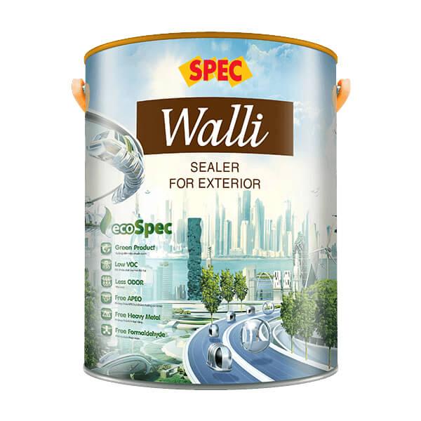 Sơn lót chống kiềm ngoại thất Spec Walli Sealer For Exterior