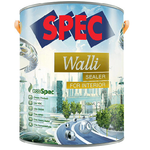 Sơn lót chống kiềm nội thất Spec Walli Sealer For Interior