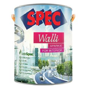 Sơn nội thất bóng cao cấp Spec Walli Sparkie For Interior