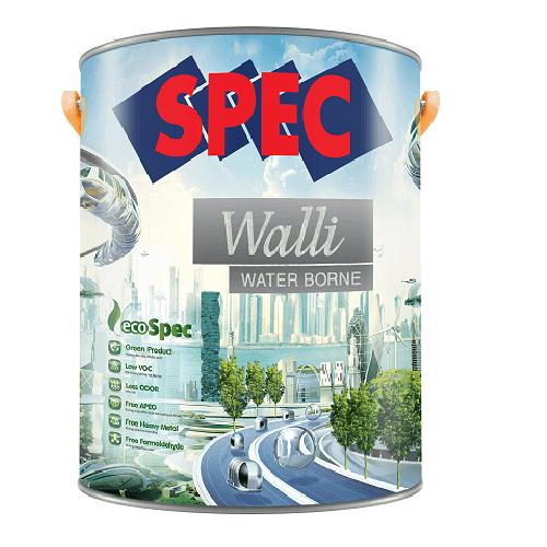 Sơn chống thấm cao cấp Spec Walli Water Borne