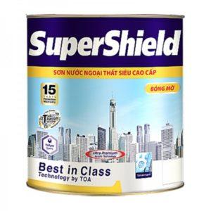 Sơn nước ngoại thất siêu cao cấp SuperShield bóng mờ
