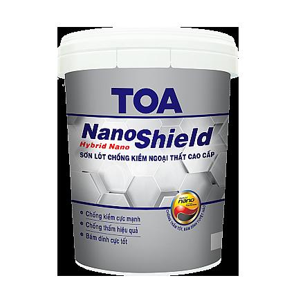 Sơn lót chống kiềm ngoại thất cao cấp TOA NanoShield