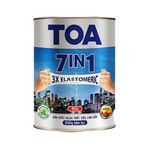 Sơn nước ngoại thất siêu cao cấp TOA 7in1