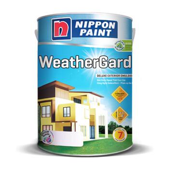 Sơn ngoại thất Nippon WeatherGard bóng