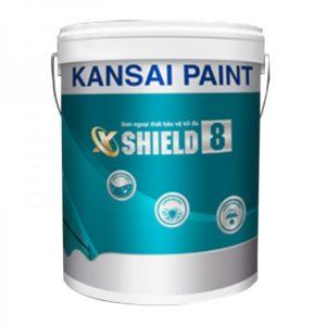 Sơn ngoại thất bóng mờ Kansai X-Shield