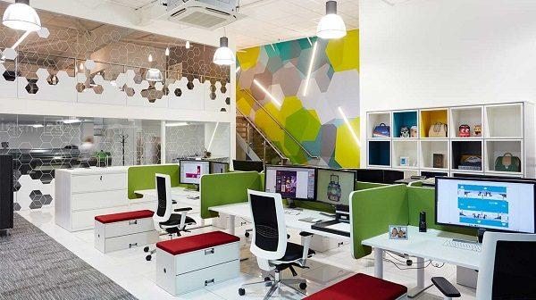 chọn màu sơn Mykolor văn phòng theo tính chất công việc