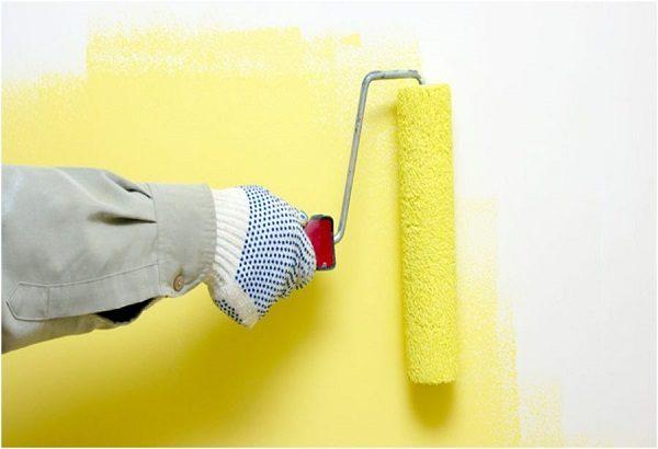 định mức sơn nhà