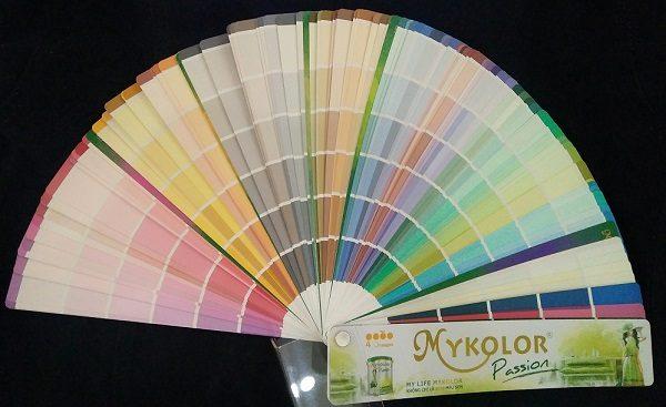 bảng màu sơn Mykolor Passion