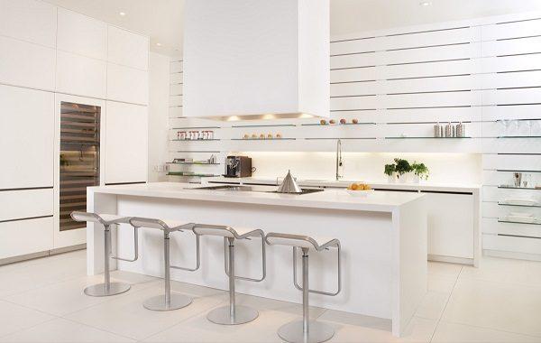 phong cách nhà bếp hiện đại