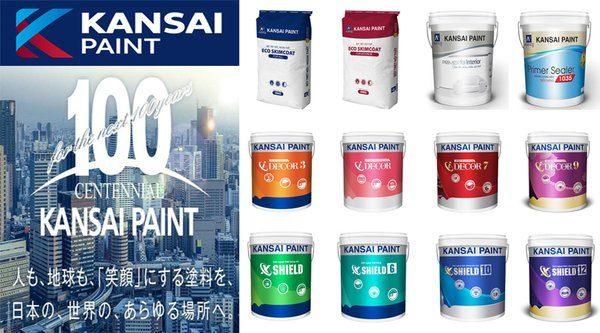 sản phẩm sơn Kansai