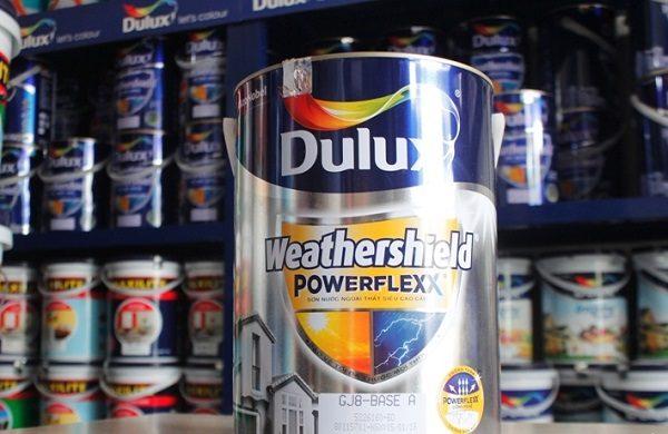 Sơn dulux weathershield powerflexx